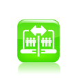 Web sharing icon vector