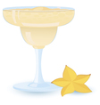 Creamy cocktail vector