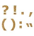 Bubble symbols vector