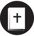 Bible book icon vector