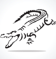 Crocodile 2 vector
