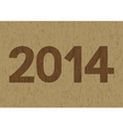 New year 2014 is coming soon3 vector
