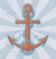 Anchor with chain vector