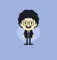 Adorable boy cartoon character vector