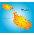 Malta country vector