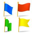 vector color cartoon flags vector