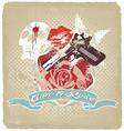 Gun rose vector