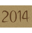 New year 2014 is coming soon4 vector