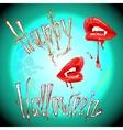 Vampire halloween vector