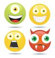 Smiley set vector