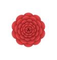 Red flower vector