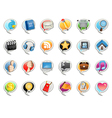 Social media bubble icon vector