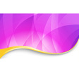 Purple flare - abstract wavy background vector