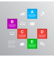 Infographic template 2 vector