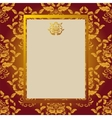 Gold card vector