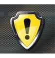 Protection shield vector