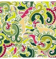 Gorgeous colorful seamless paisley pattern vector