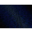 Abstract background with a digital binary code vector