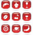 Food drink metal glass vector