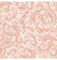 Seamless elegant paisley lace pattern vector