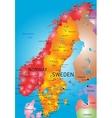 Norway and sweden vector