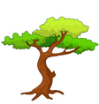 Tree cartoon vector