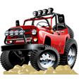 Cartoon jeep one-click repaint vector