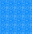Seamless texture sea vector