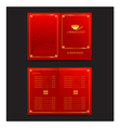 Chinese food restaurant oriental menu vector