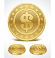 Money coins vector