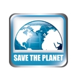 Save the planet vector