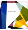 Geometrical unusual pattern vector