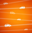 Car abstract background with stripes vector