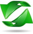 Arrow sticker vector