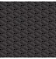 Black hexagons seamless pattern vector