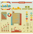 Construction icons and graphics vector