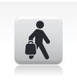 Buy bag icon vector