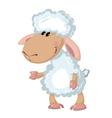 Beautiful sheep vector