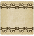 Marine knot background vector