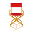 Director chair 01 vector