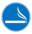 Sign smoking allowed vector