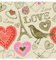 Love france background pattern vector