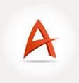 Letter a abstract template logo design vector