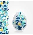 Easter eggs design template vector