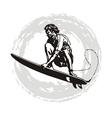 Surfer pro vector