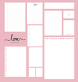 Collection of various white paper designs paper vector