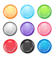 Multi colored buttons vector