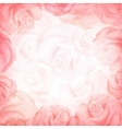 Abstract romantic background in red colors vector