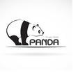 Image of an panda design vector