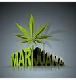 Marijuana world vector